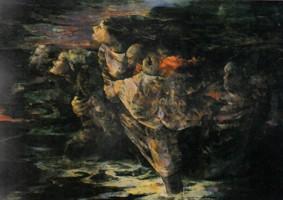 海響(A) (1984 油彩 カンヴァス 120F)