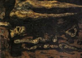 化石 (1962 油彩 カンヴァス 20F)