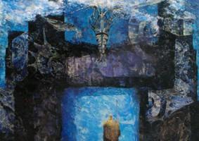 海の門 (2000 油彩 カンヴァス 100F)